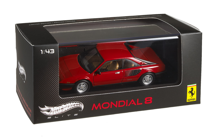 Ferrari Mondial 8 (1980) Hot Wheels V8381 1/43