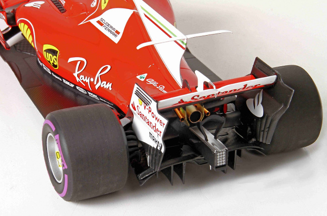 Ferrari SF70-H nº 7 Kimi Raikkonen (2017) BBR 1/18