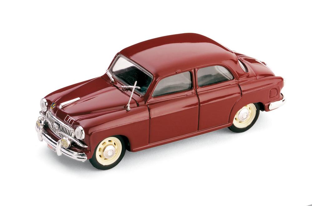 Fiat 1400B Polizia Stradale (1956) Brumm R407 1/43