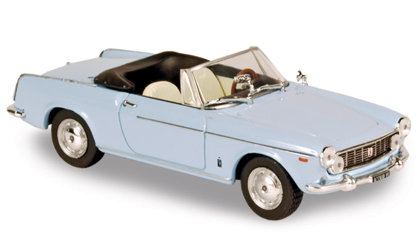Fiat 1600 Cabriolet (1962) Norev 770190 1/43
