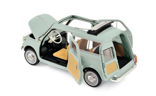 Fiat 500 Giardiniera (1960) Norev 187723 1:18