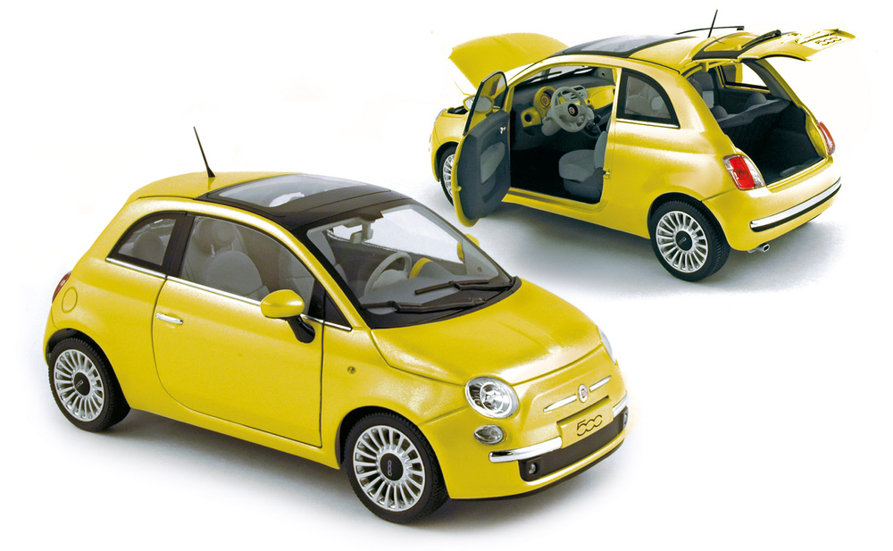 Fiat 500 Lounge (2007) Norev 187741 1/18
