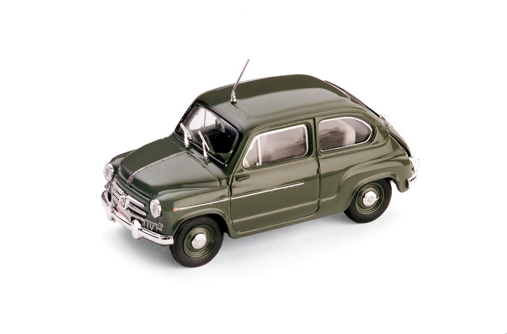 Fiat 600D Polizia Stradale (1960) Brumm R308 1/43