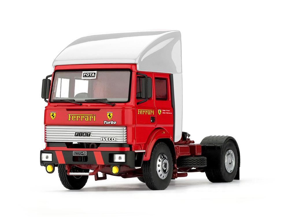 Fiat Iveco 190 Scuderia Ferrari (1981) Brumm T05B 1:43