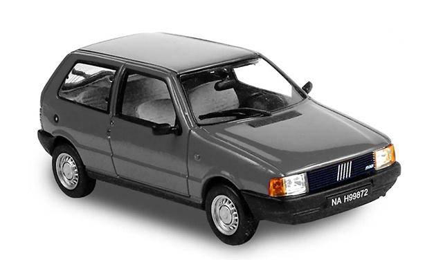 Fiat Uno (1983) Gris metalizado Norev 772953 1/43