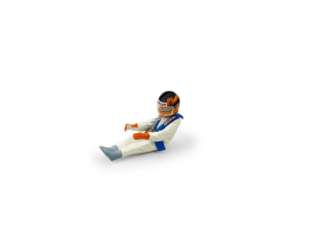 Figura Gilles Villeneuve (1982) Brumm CH01B 1/43