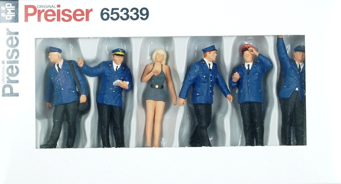 Figuras Personal Trenes Alemania Preiser 65339 1/43