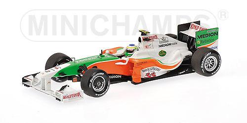 Force India VJM02 nº 21 Giancarlo Fisichella (2009) Minichamps 400090021 1/43