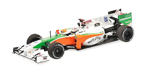 Force India VJM03 nº 14 Adrian Sutil (2010) Minichamps 410100014 1/43