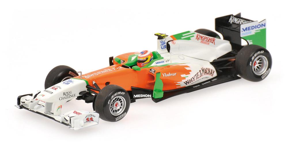 Force India VJM04 nº 15 Paul di Resta (2011) Minichamps 410110015 1/43
