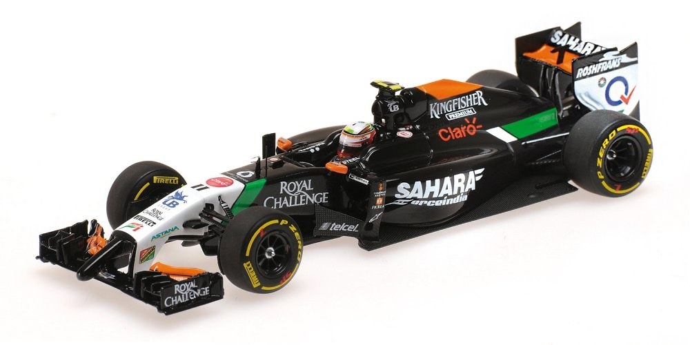 Force India VJM07 nº 11 Sergio Pérez (2014) Minichamps 417140011 1:43