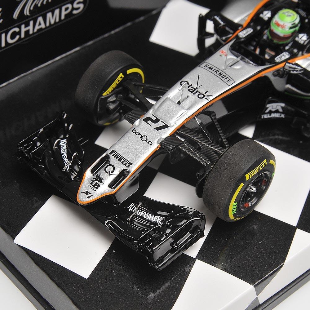 Force India VJM09 nº 27 Nico Hülkenberg (2016) Minichamps 417160027 1:43