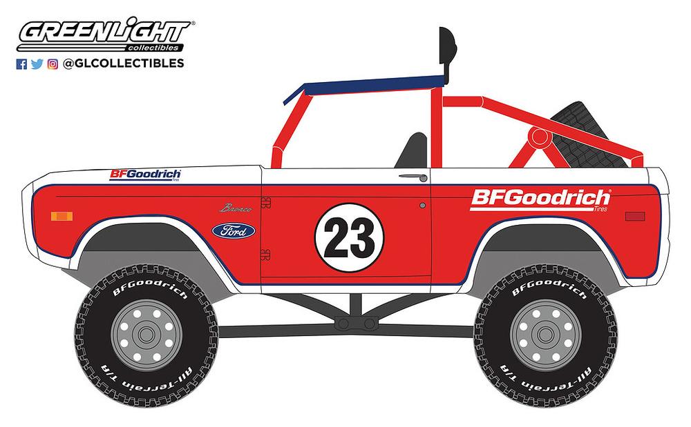 41050-C 1:64 Running on Empty Series 5 - 1966 Ford Baja Bronco BFGoodrich