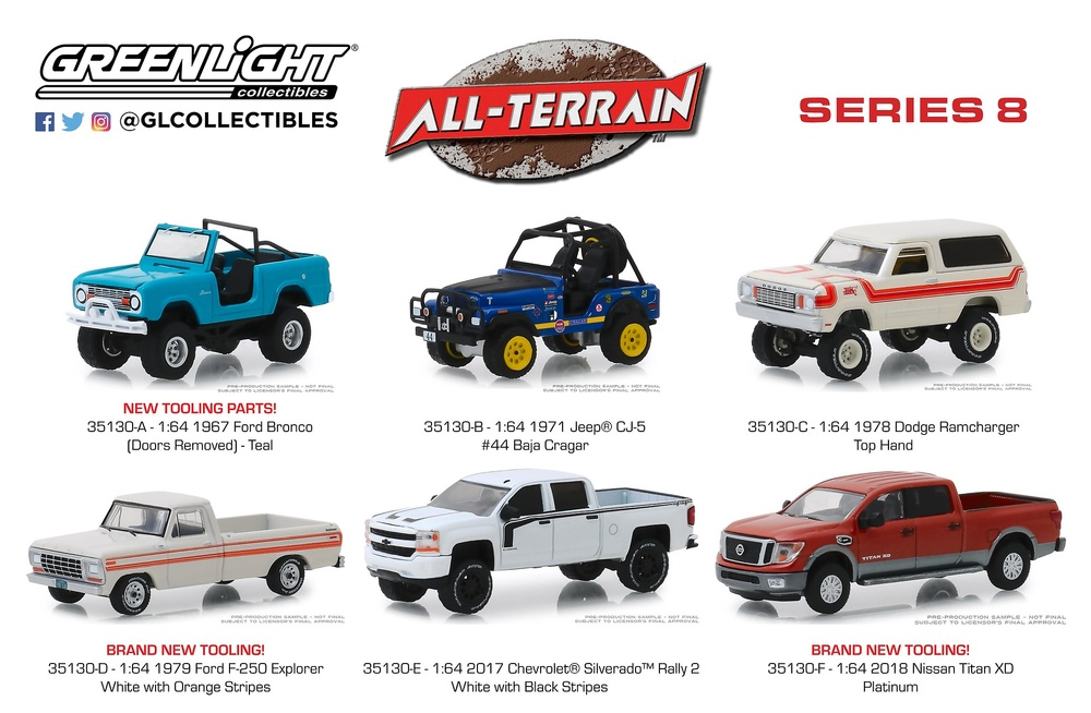 Ford Bronco (1967) Greenlight 35130A 1/64
