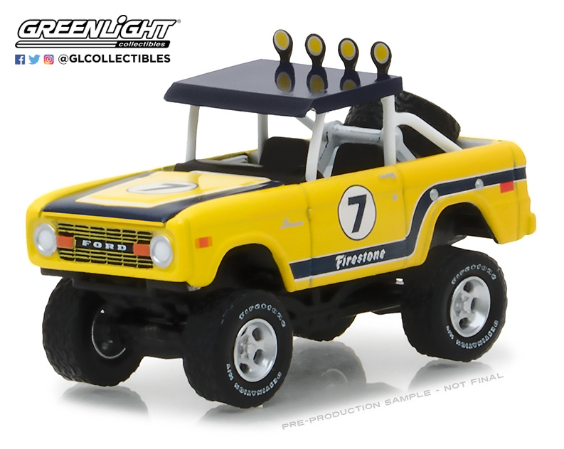 Ford Bronco Baja Pick-Up (1972) Greenlight 35090B 1/64