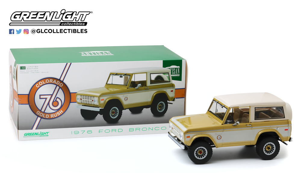 Miniatura Ford Bronco Colorado