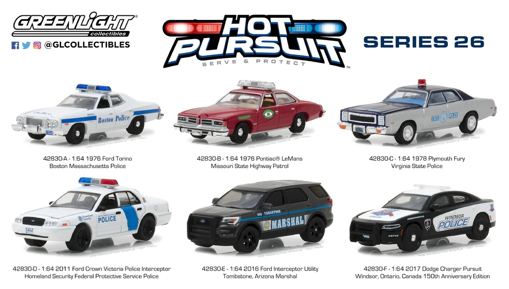 Ford Crown Victoria - Homeland Security Federal Protective Service (2011) Greenlight 1/64