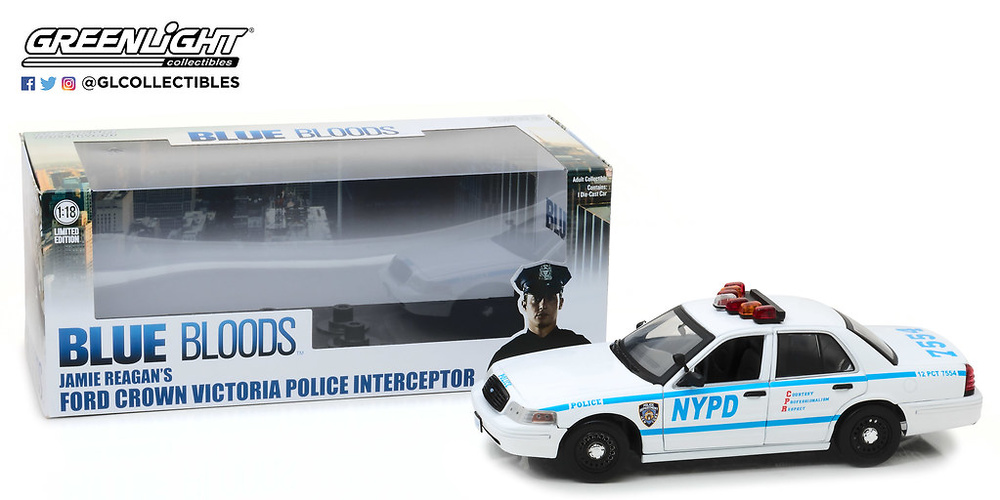 Ford Crown Victoria Interceptor NYPD