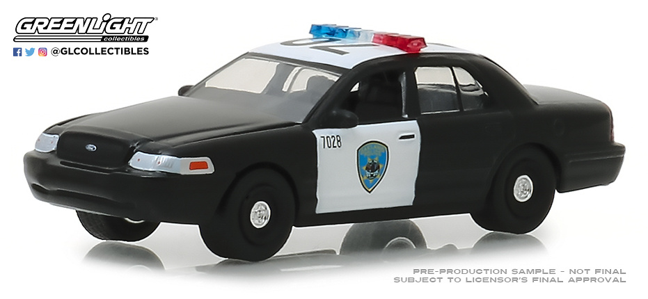 42870-D 1:64 Hot Pursuit Series 30 - 2008 Ford Crown Victoria Police Interceptor - Oakland, California Police