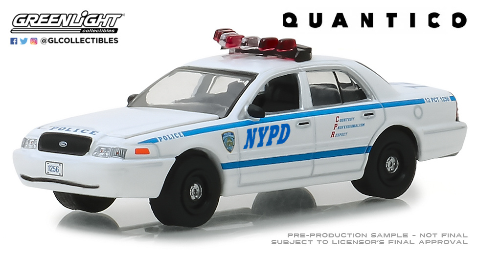 44830F Quantico (2015-18 TV Series) - 2003 Ford Crown Victoria Police Interceptor New York City Police Dept (NYPD)