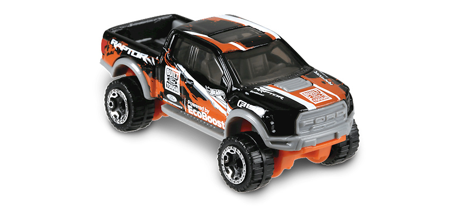 Ford F-150 Raptor -Hot Trucks- (2017) Hot Wheels FJY54 1/64