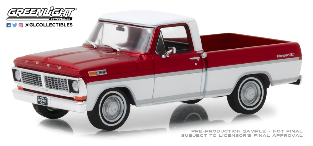 Ford F100 (1970) Greenlight 86318 1/43