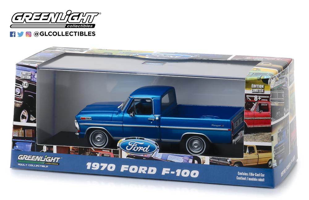 Ford F100 (1970) Greenlight 86317 1/43