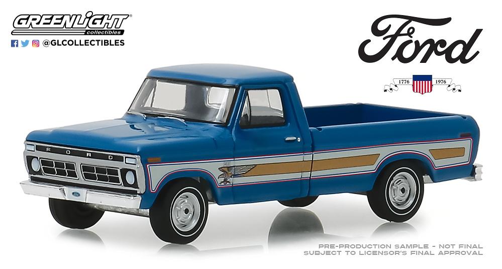 Ford F100 Bicentenario (1976) Greenlight 29966 1/64