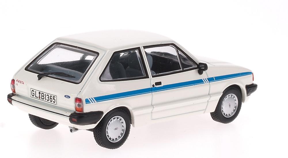 Ford Fiesta Serie II (1984) White Box 186649 1:43
