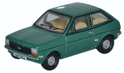Ford Fiesta serie 1 (1980) Oxford 76FF005 1/76