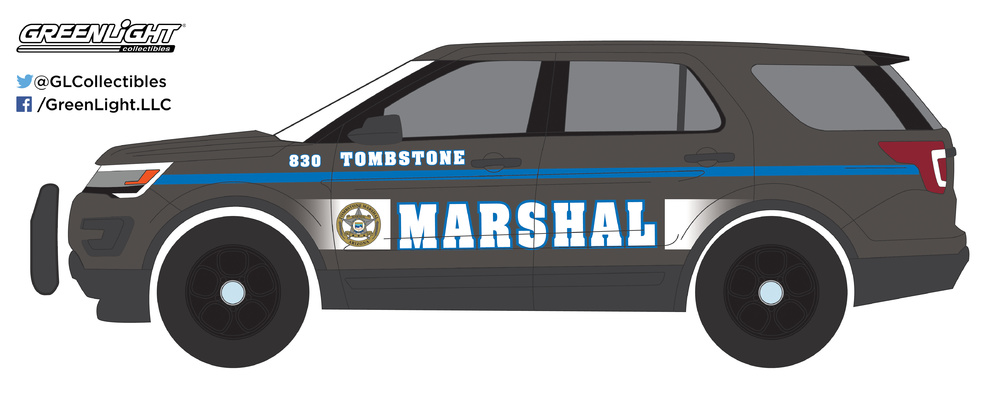 Ford Interceptor Utility - Tombstone Arizona Marshal (2016) Greenlight 42830E 1/64