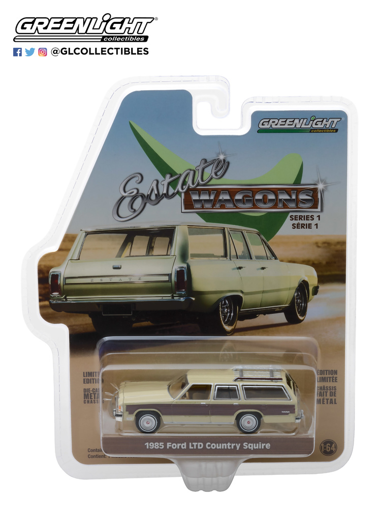 Ford LTD Country Squire (1985) Greenlight 19910-F 1/64
