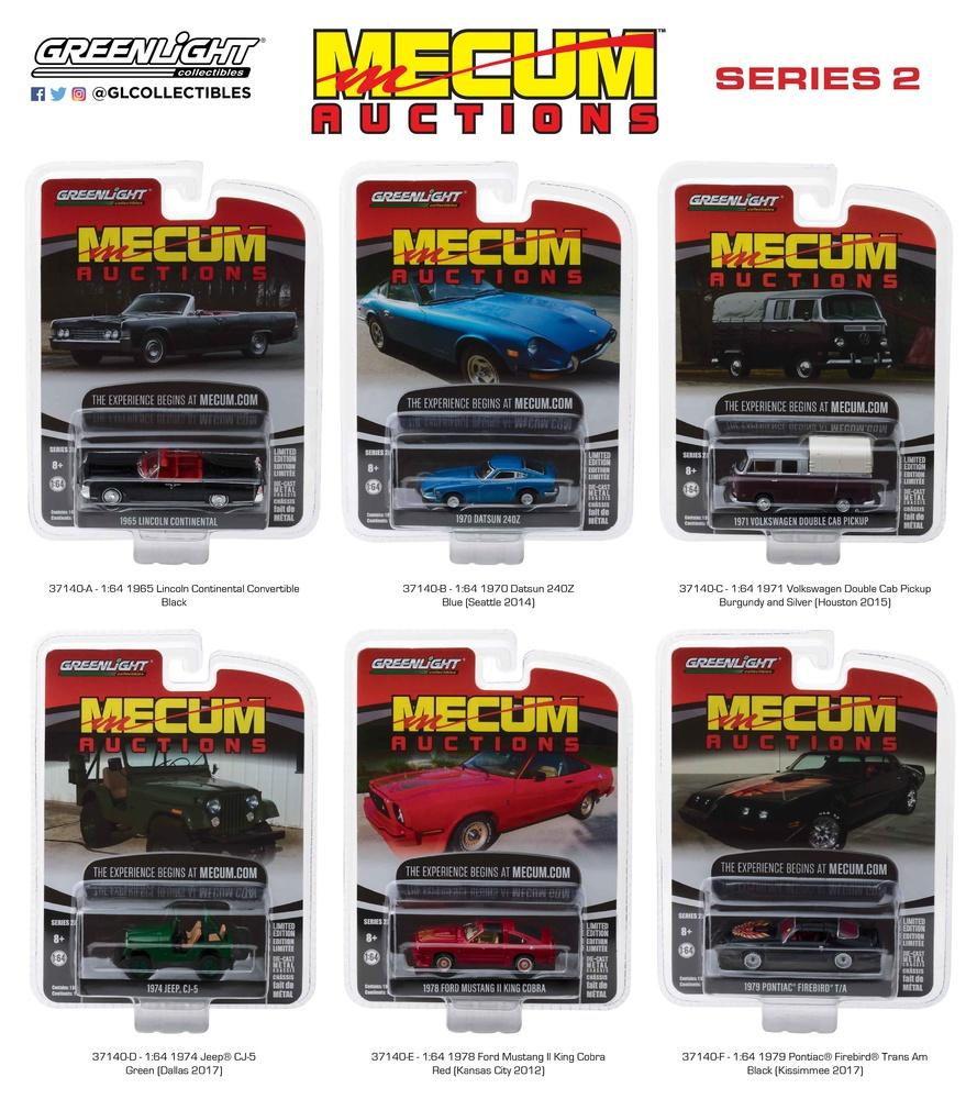 Mecum Auctions serie 2 Greenlight 37140 1/64