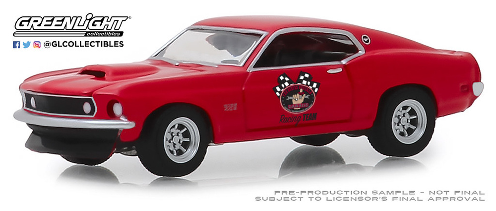 Ford Mustang Boss 429 Racing