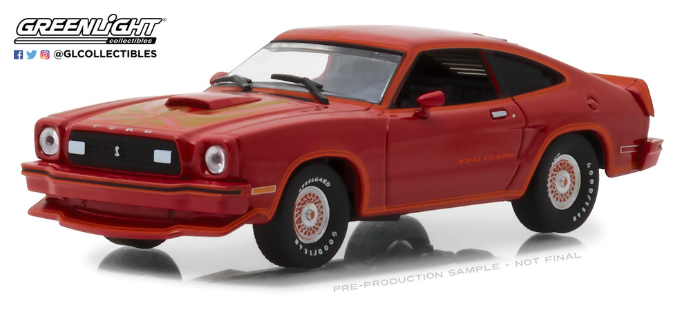 Ford Mustang King Cobra II (1978) Greenlight 86321 1/43