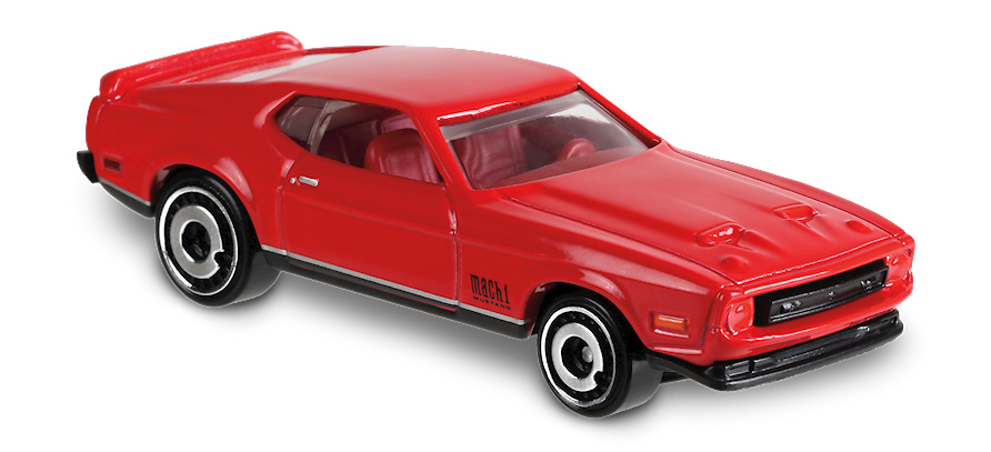 Ford Mustang Mach 1-Screen- (1971) Hot Wheels FYC92 1/64