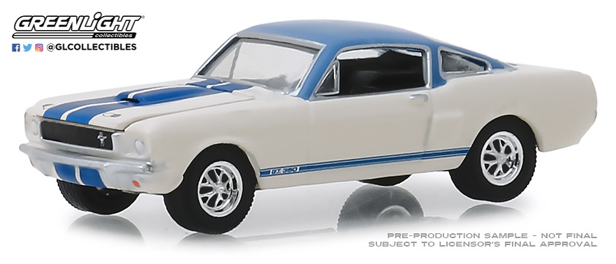 Ford Mustang Shelby GT Prototipo 001 - Lote 1406 (1966) Greenlight 37160A 1/64