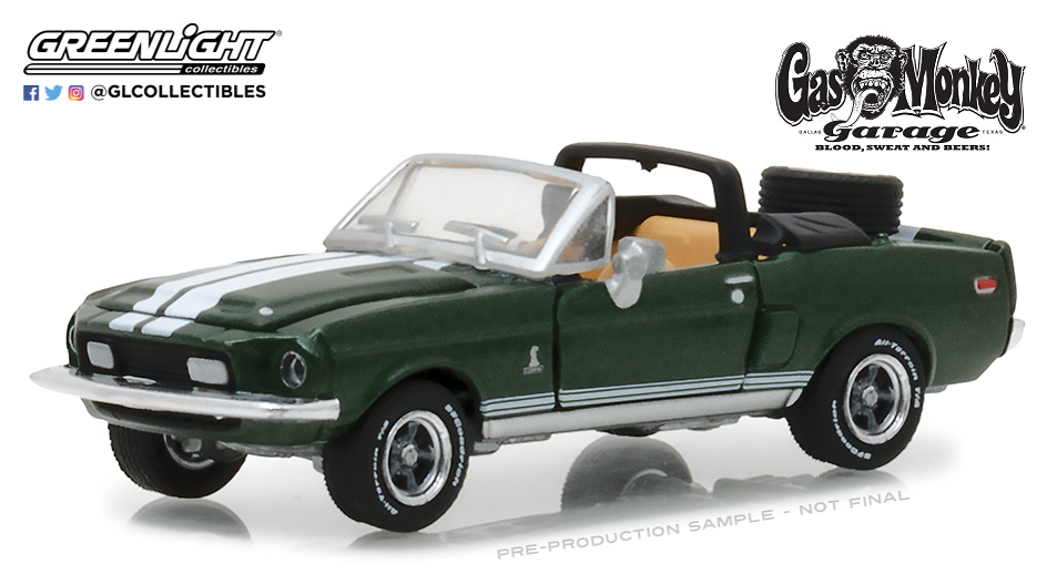 Ford Mustang Shelby GT500KR convertible