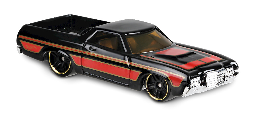 Ford Ranchero -Hot Trucks- (1972) Hot Wheels FYC58 1/64