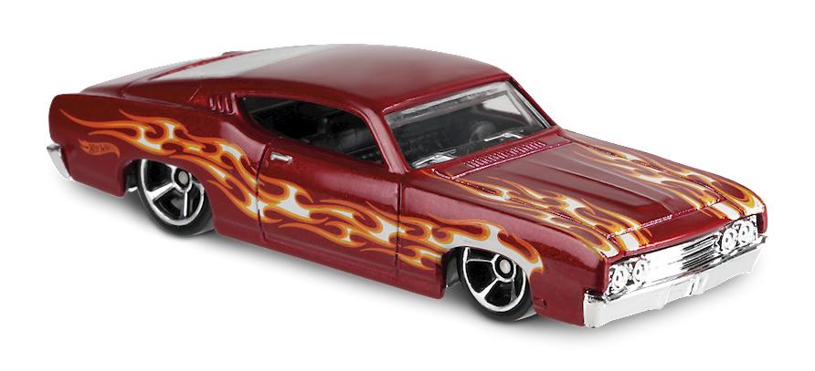 Ford Torino Talladega -Flames- (1969) Hot Wheels FYC39 1/64