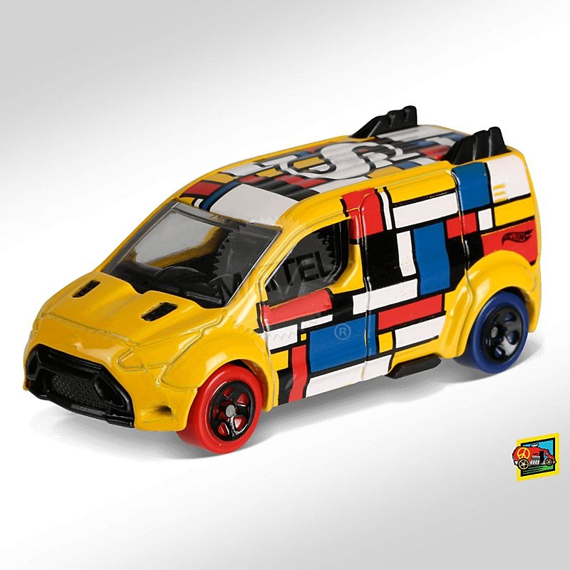 Ford Transit Connect -Art Cars- (2018) Hot Wheels FJY65 1/64