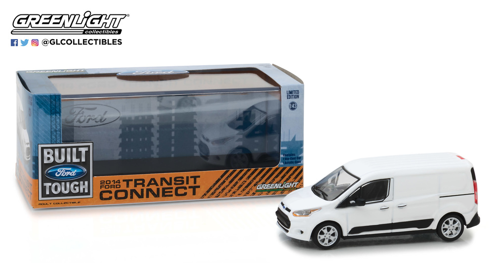 Ford Transit Connect - V408 (2014) Greenlight 86044 1/43