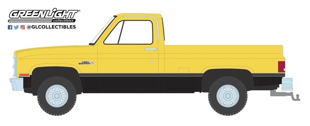 GMC High Sierra (1987) Greenlight 35150C 1/64