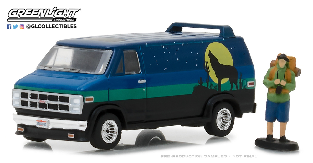 GMC Vandura Custom con figura (1981) Greenlight 97030C 1/64