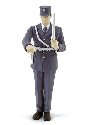 Gendarme controlando tráfico (1968) Norev 140506 1/18