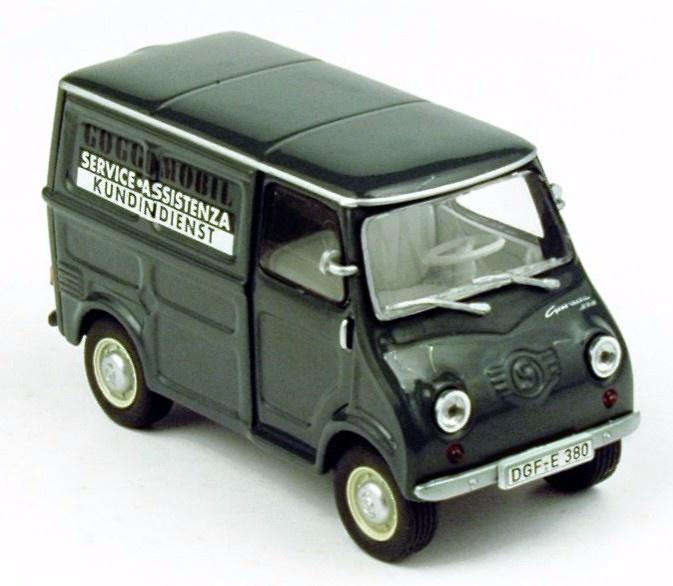 Goggomobil TL250 Furgoneta (1963) Norev 820351 1/43