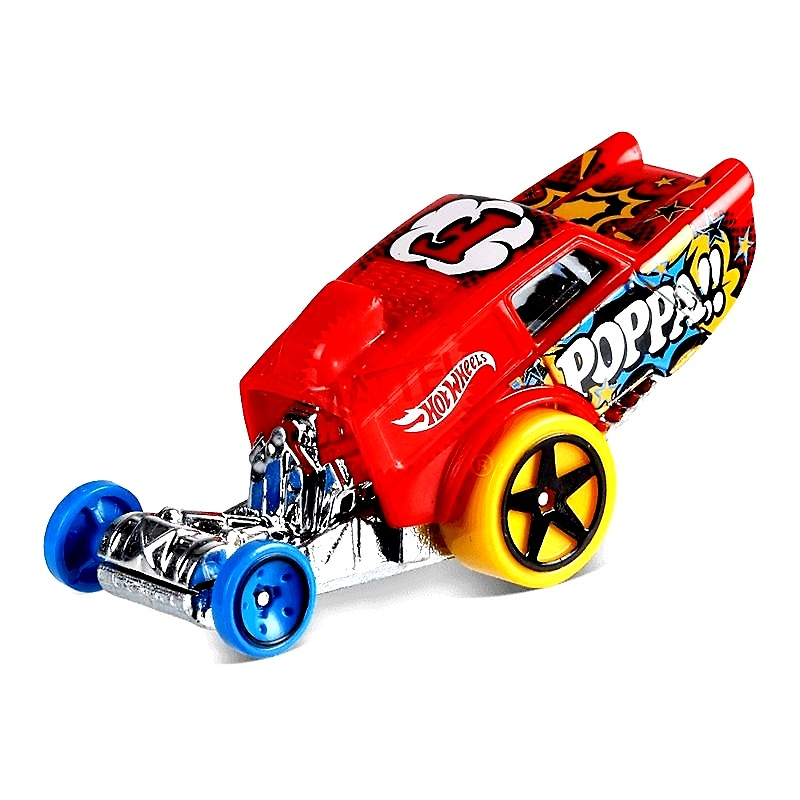 HW Poppa Wheelie (2018) Hot Wheels FJW75 1/64
