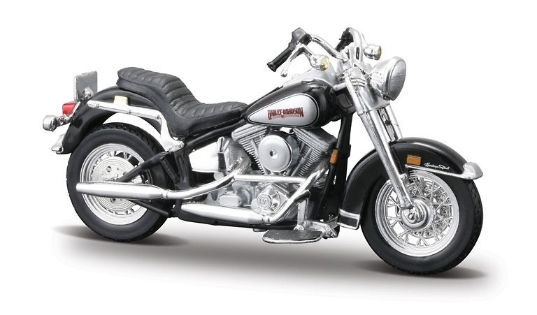 Harley Davidson FLST Heritatge Softail Evolution (1986) Maisto Serie 23 1/18