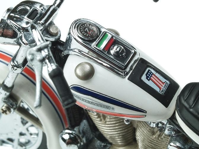 Harley Davidson Super Glide (1971) Franklin Mint B11WC30 1/24