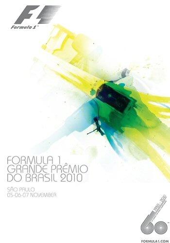 Poster GP. F1 Brasil 2010